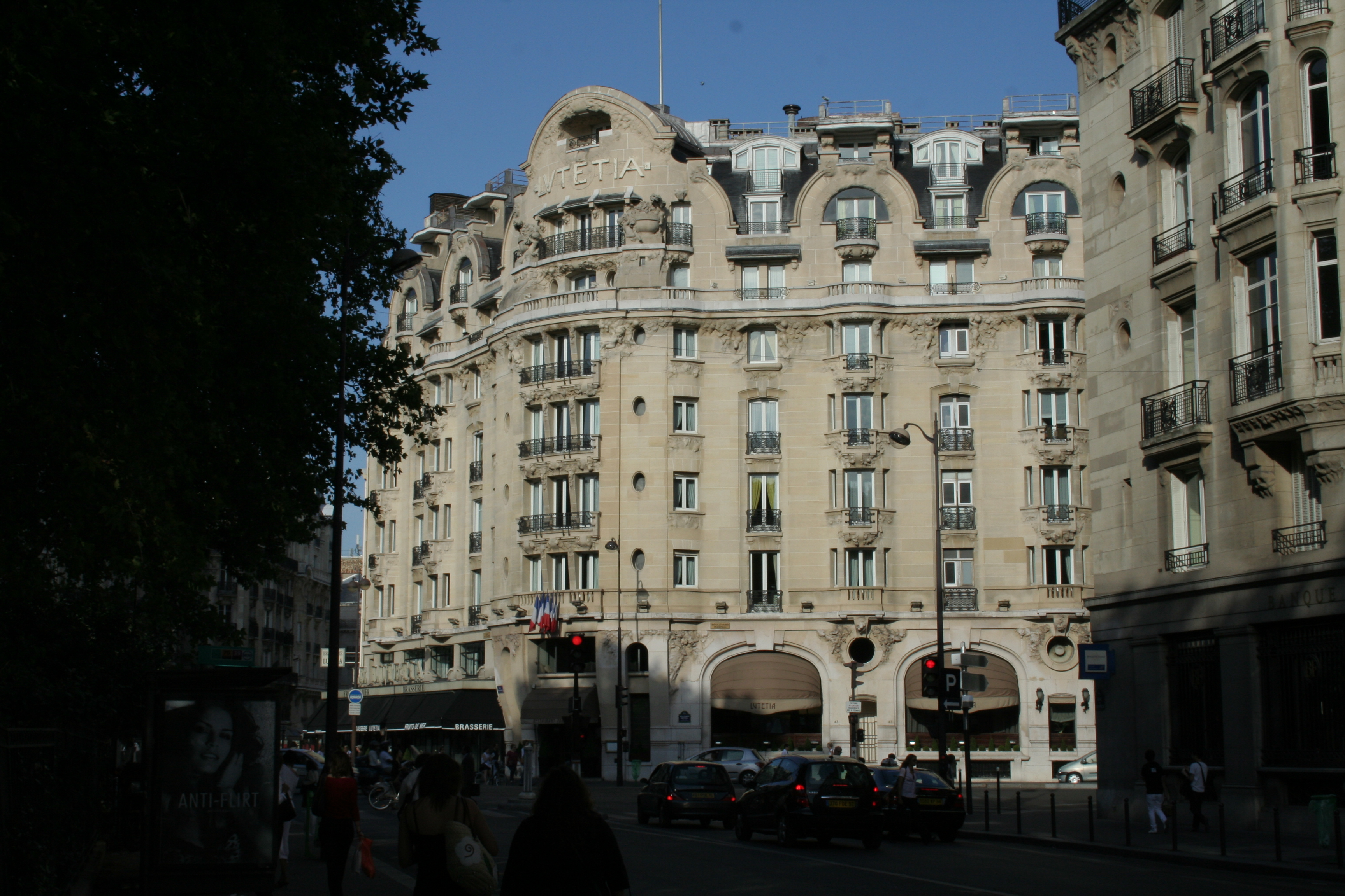 File photo h tel lutetia paris france 2007 08 wikimedia commons - Le lutetia paris restaurant ...