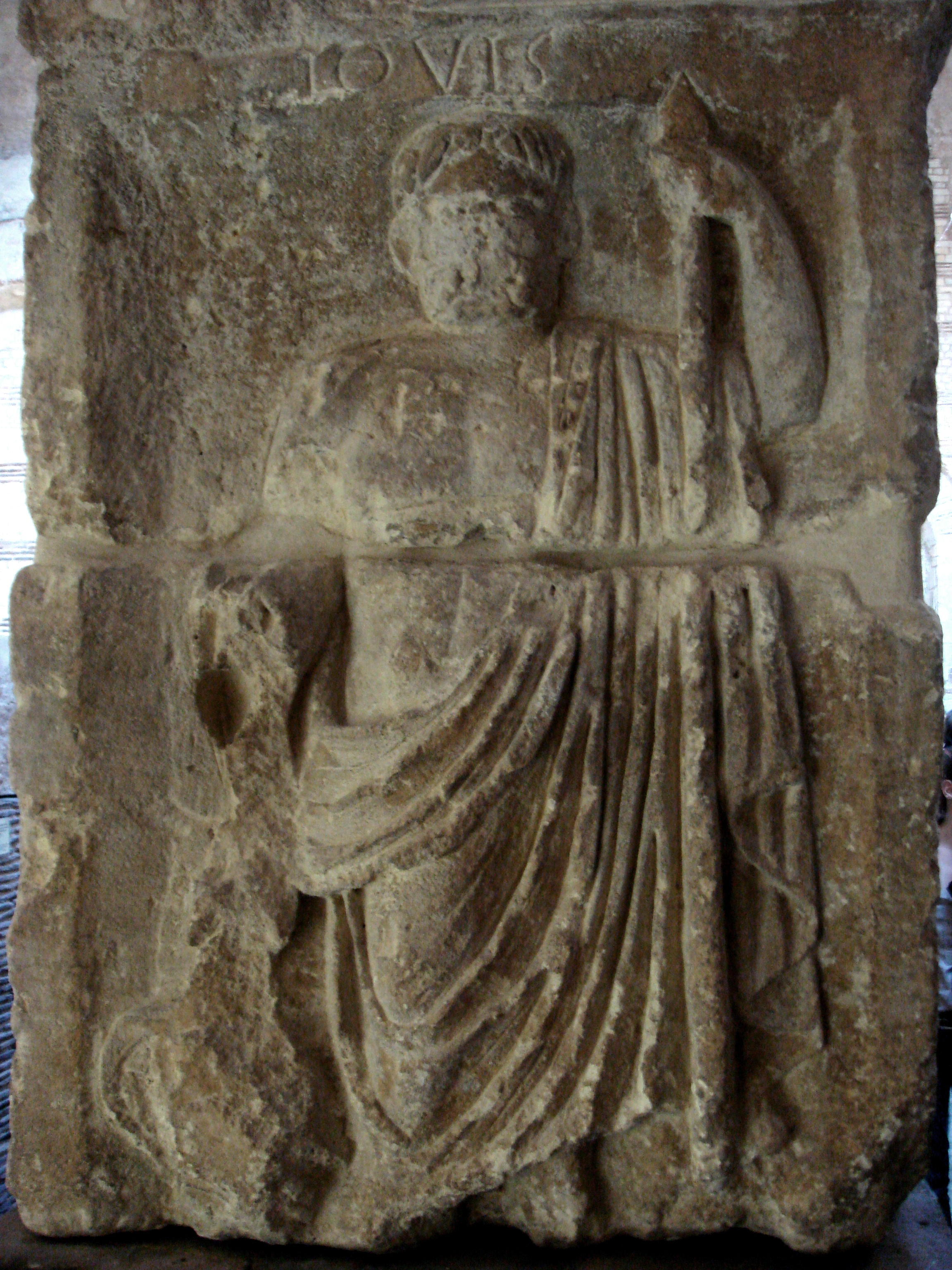 Storm gods in a familiar example: Roman father of the gods Jupiter, wielder of the thunderbolt! Image Credit PHGCOM (Public Domain) via Wikimedia Commons.