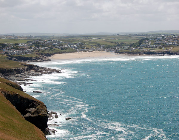 Polzeath from Pentire