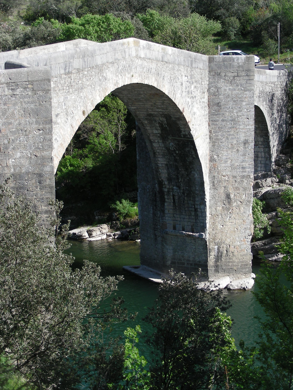 File Pont De Saint Etienne D Issensac 3 Jpg Wikimedia Commons