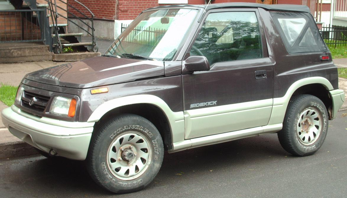 Suzuki Sidekick Sport For Sale