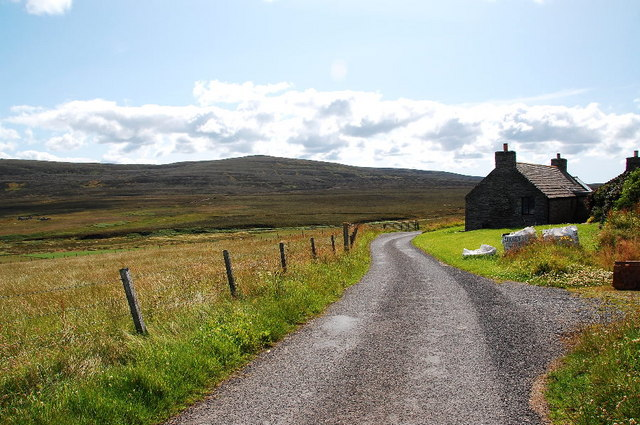 Renovated croft at Ervadale - geograph.org.uk - 1414332.jpg English: Renovated croft at Ervadale Traditional style in keeping with the surroundings