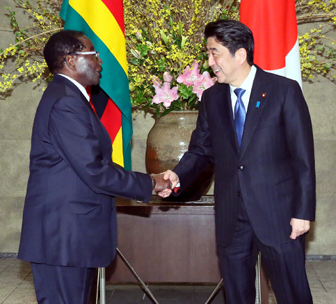 President mugabe on homosexuality in japan