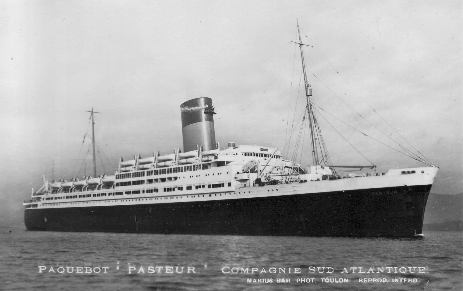 Image illustrative de l'article SS Pasteur