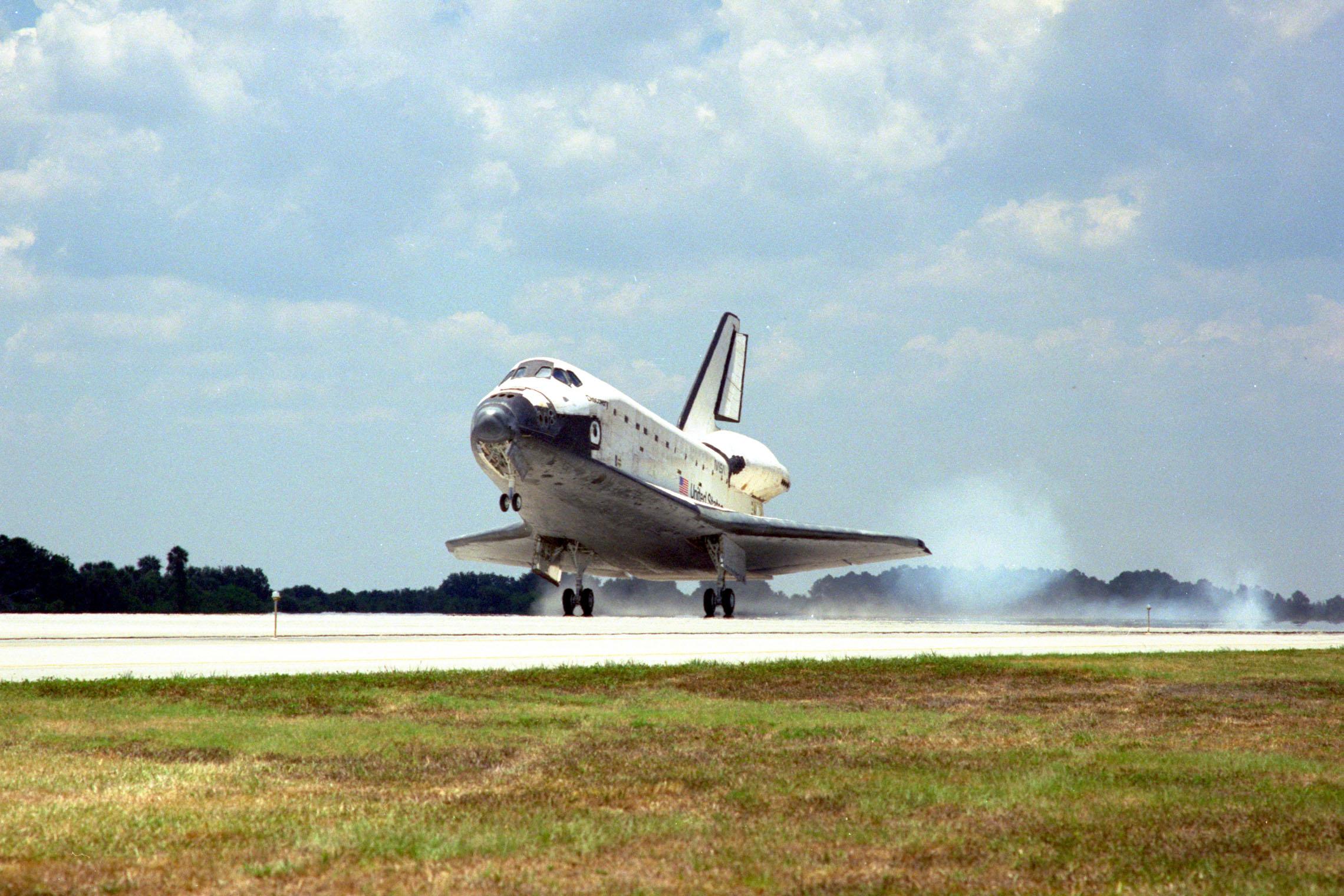 space shuttle landing strip length - photo #5