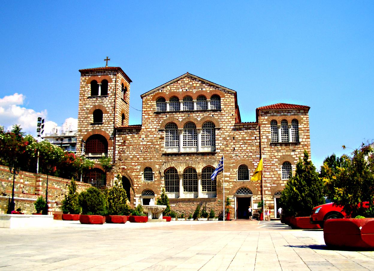 Храмы салоники греция
