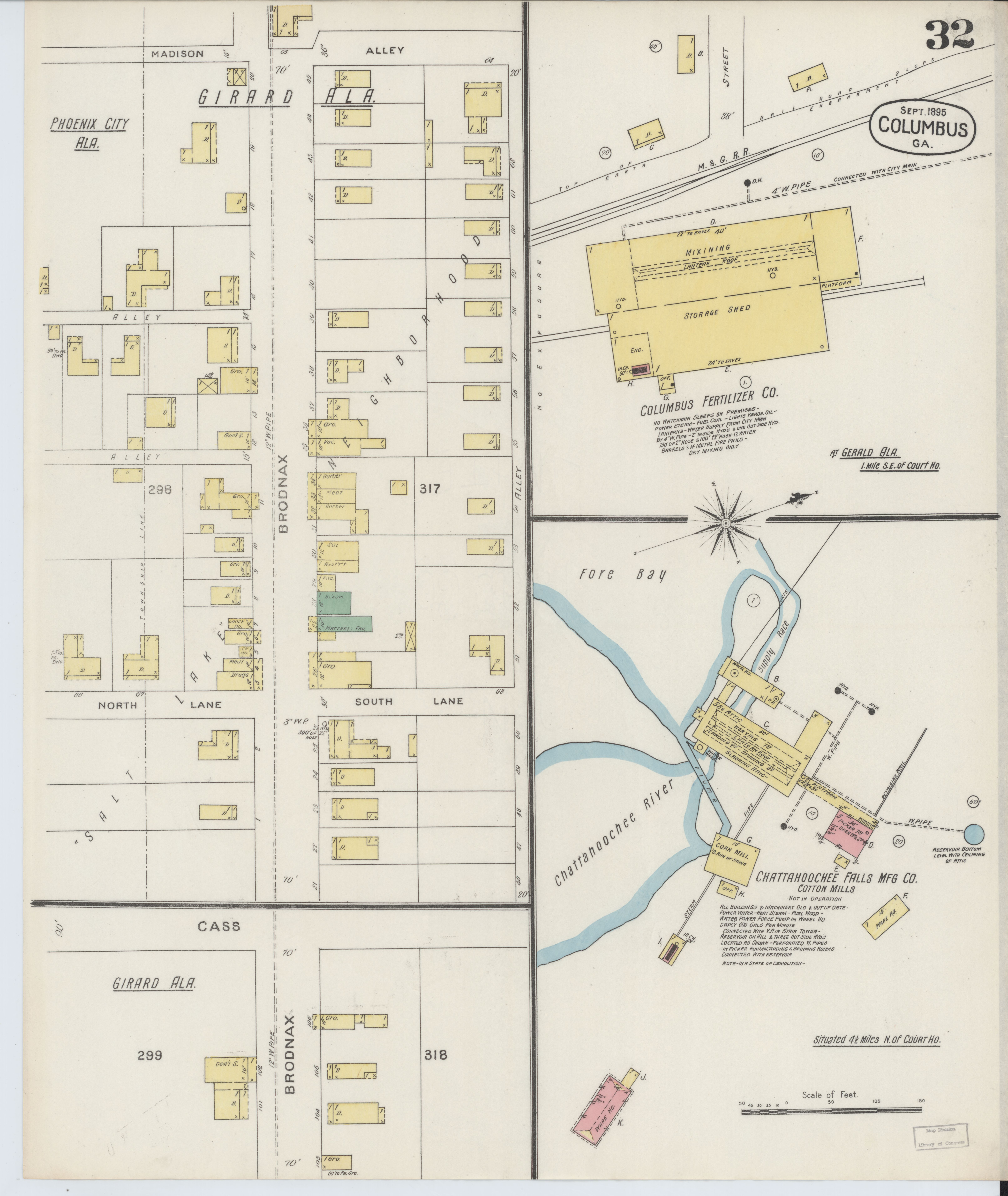 File:Sanborn Fire Insurance Map from Columbus, Muscogee