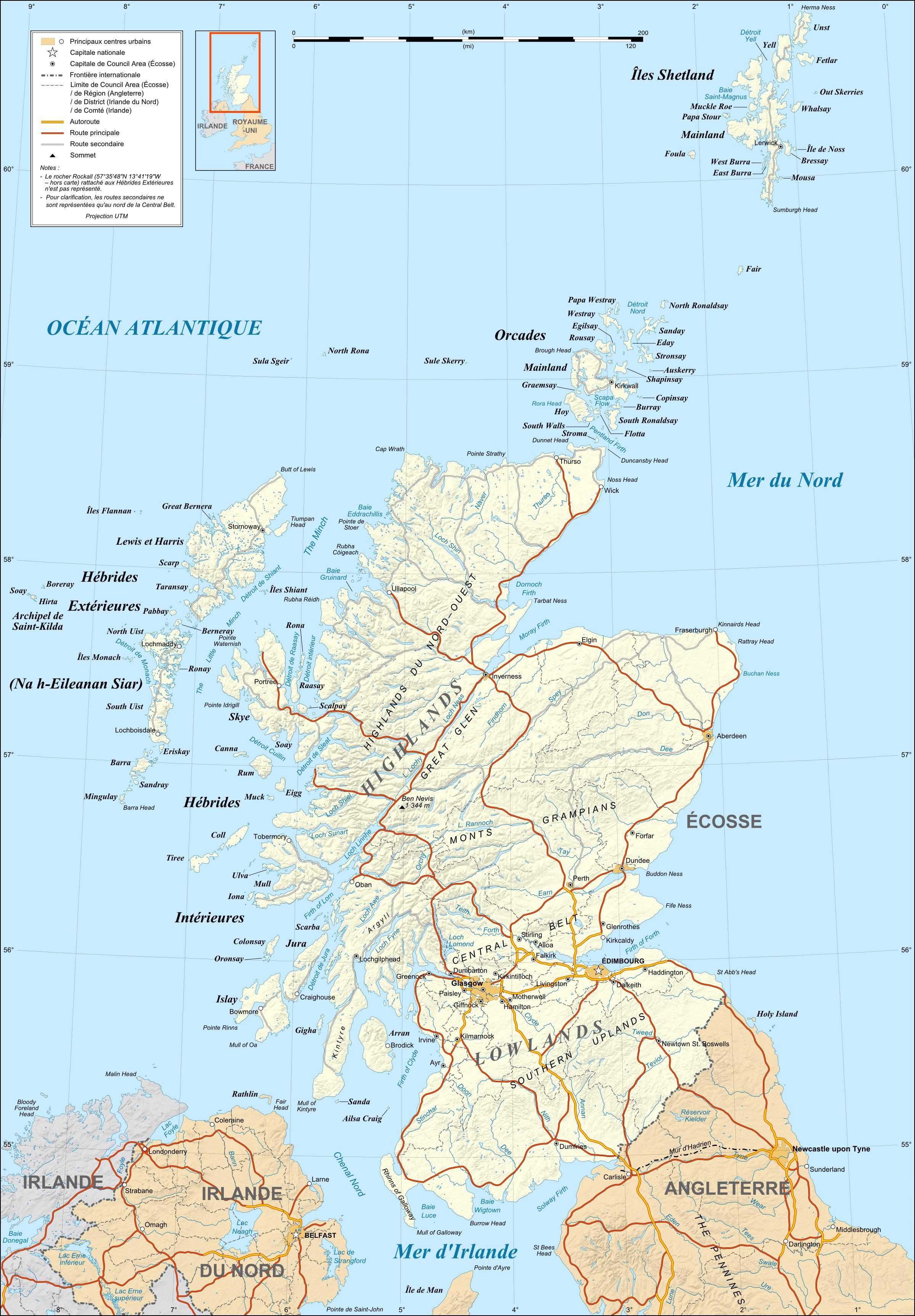 Escocia Mapa Reino Unido.Geografia De Escocia Wikipedia La Enciclopedia Libre