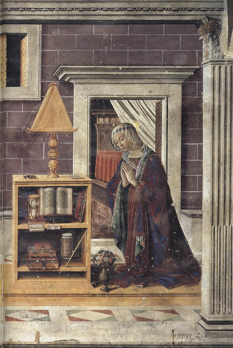 Sebastiano Mainardi - Annunciation (detail) - WGA13863.jpg