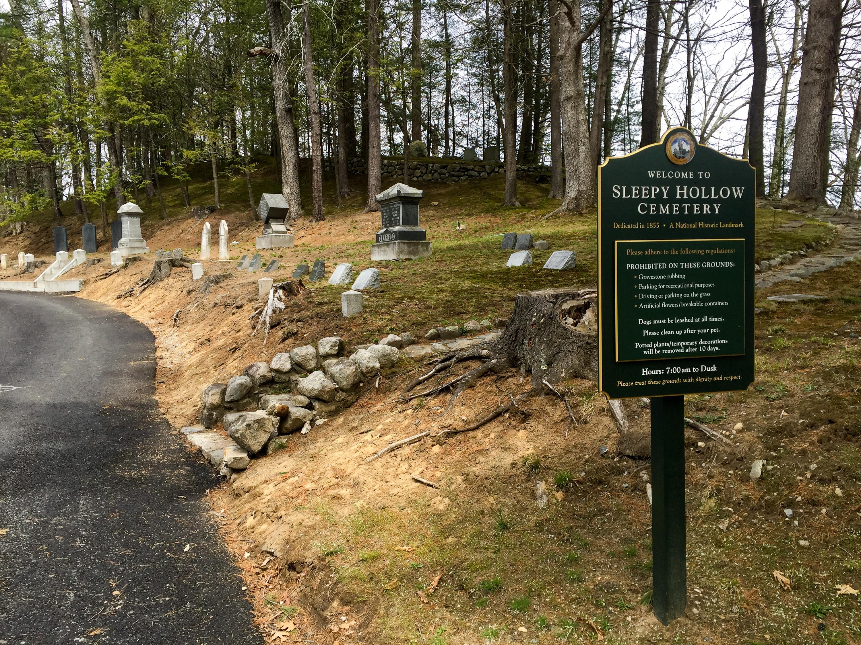 Cemetery Series: Sleepy Hollow Cemetery - Concord, MA