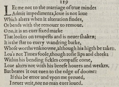 an analysis of william shakespeares sonnet 116 What are the metaphors and hyperboles for shakespeares sonnet 116  the metaphors and hyperboles for shakespeares  william shakespeare sonnet 116.