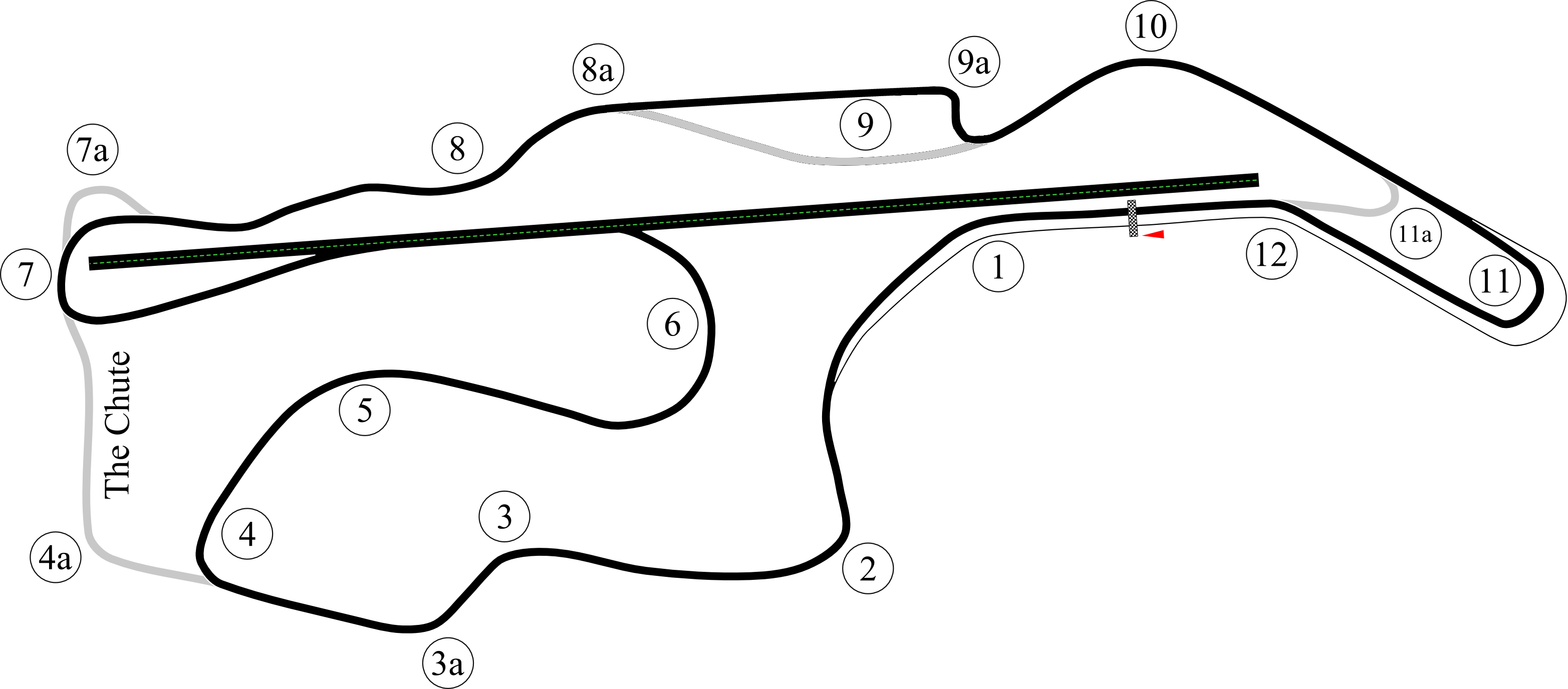 Slot Car Track Plans together with Sonoma Raceway likewise Index as well  in addition Texas World Speedway. on nascar track layouts