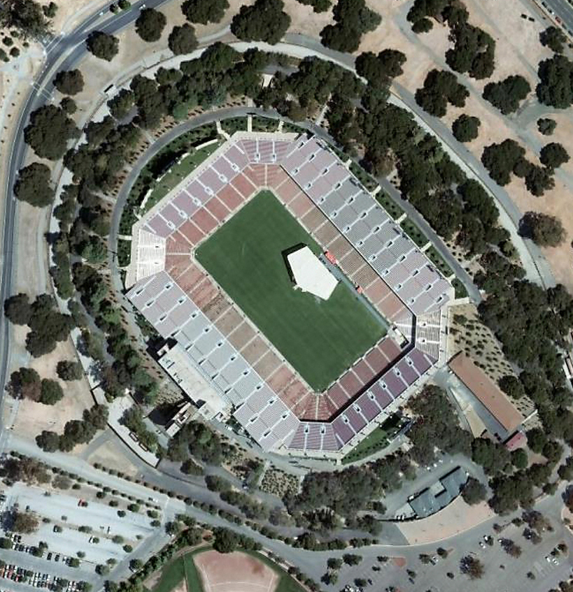Stanford In Popular Culture - Stanford Stadium - Wikiwand - Stanford Stadium is an outdoor athletic stadium in Stanford, California, on the   campus Stanford University. It is the home of the Stanford Cardinal college   football ...