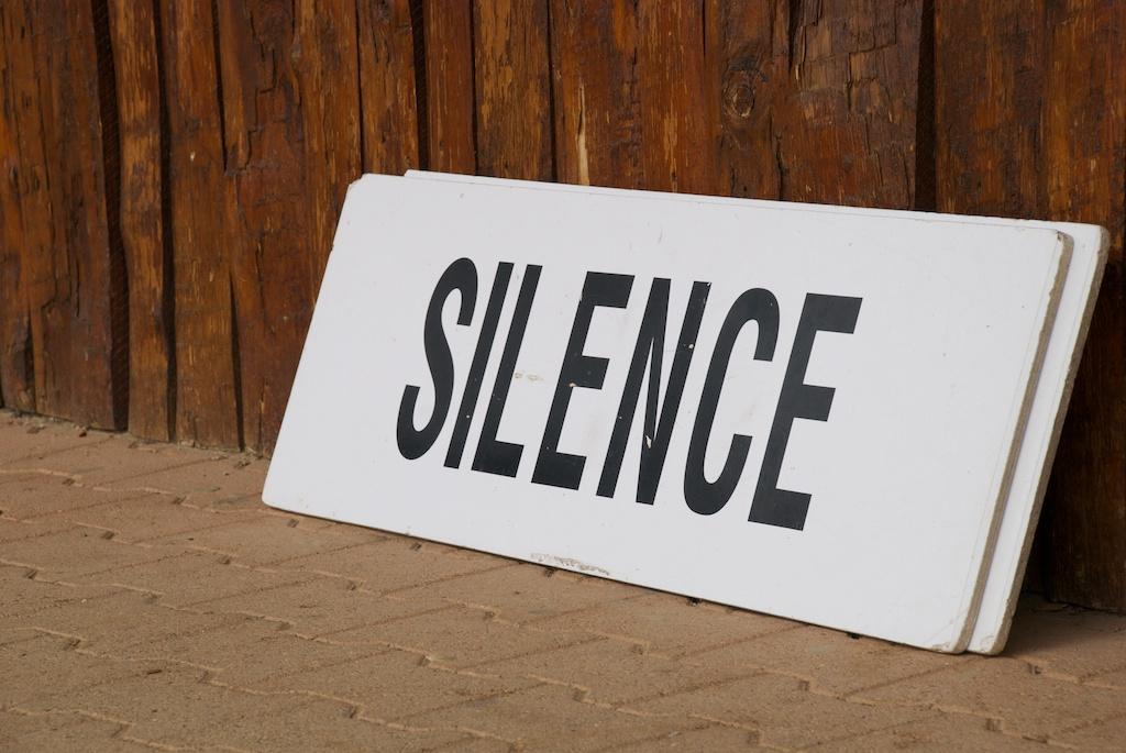 Les moments de silence rendent mon esprit créatif