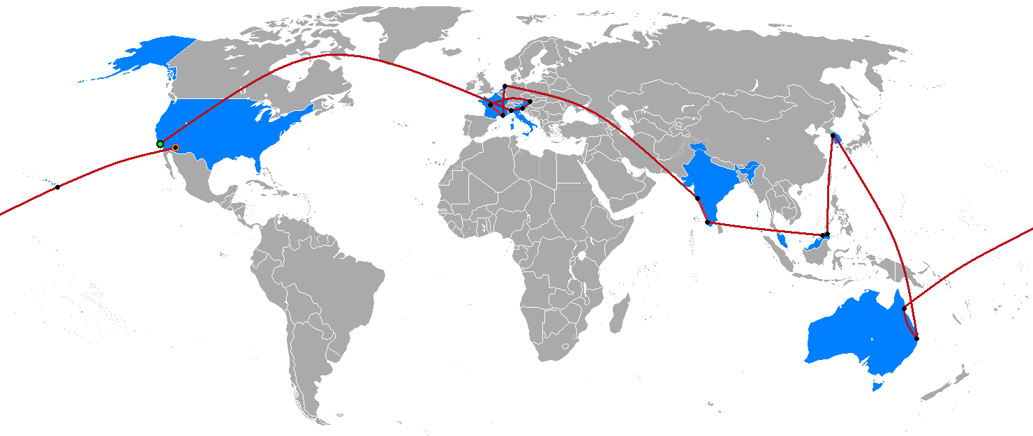 File The Amazing Race 4 Map Png Wikimedia Commons