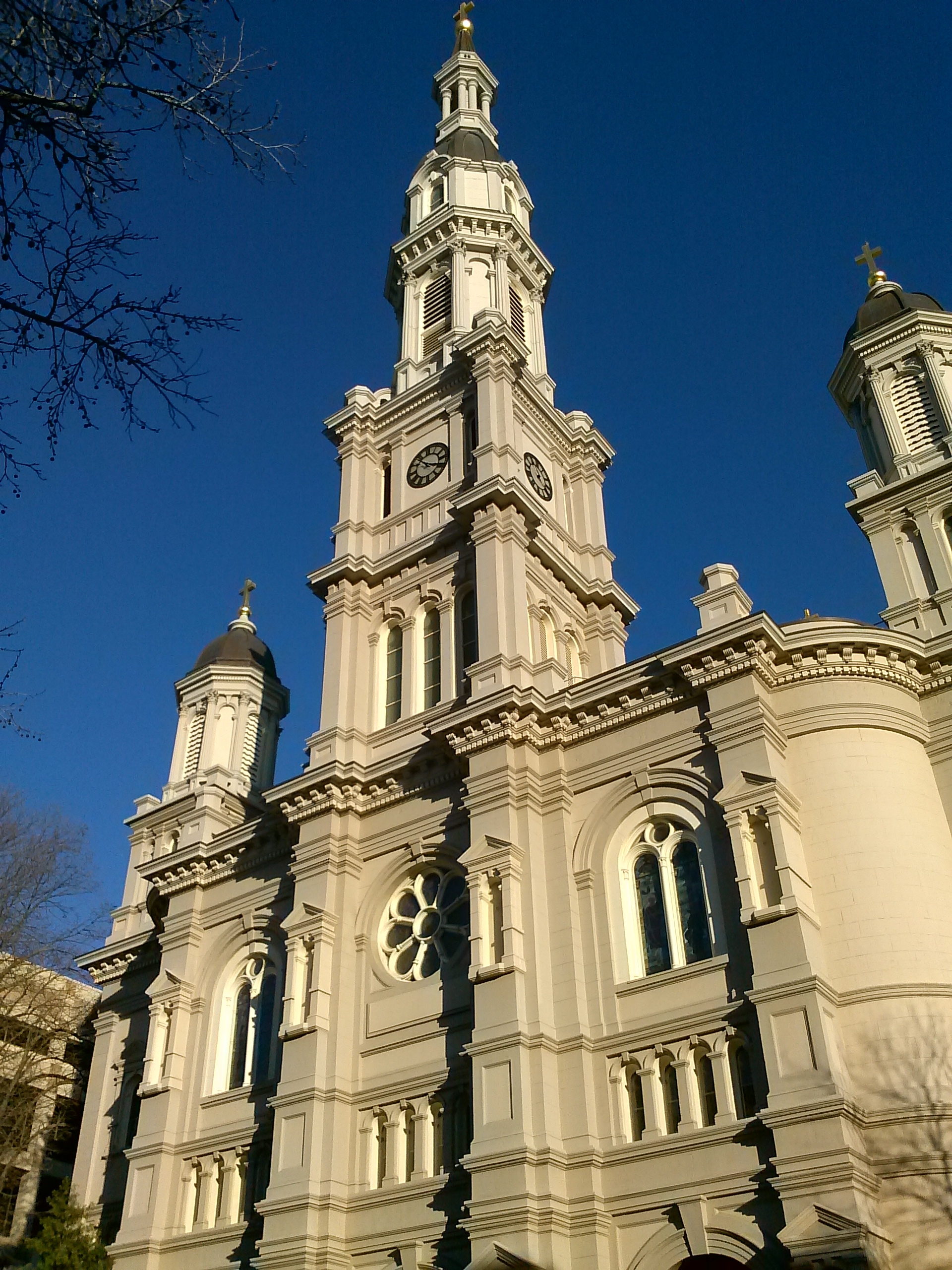 The Cathedral of the Blessed Sacrament in Sacramento, California, USA 2013-06-24 22-07.jpg