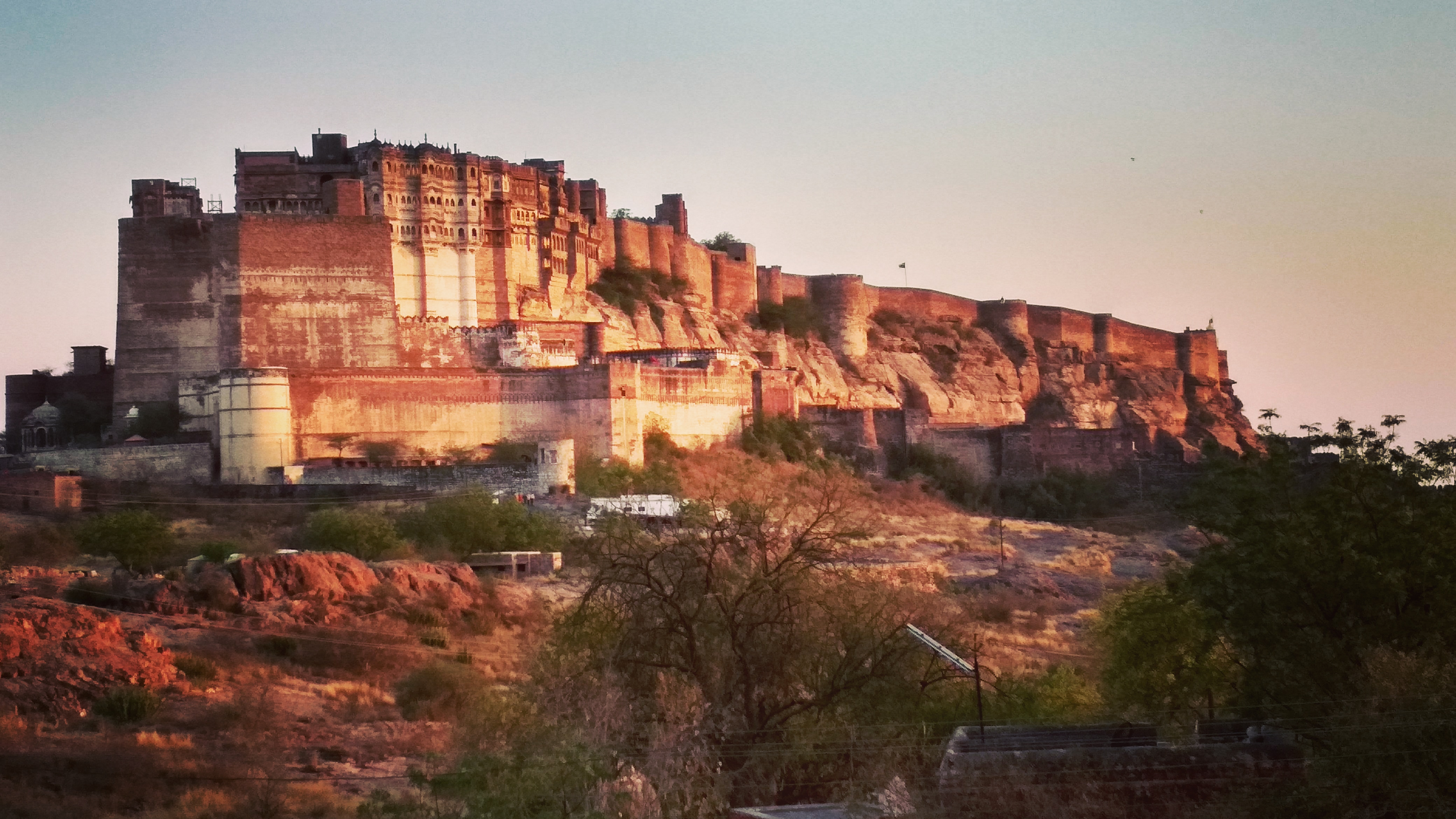 Mehrangarh Fort-- Jodhpur