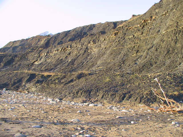 The lower slopes of Black Ven - geograph.org.uk - 484055