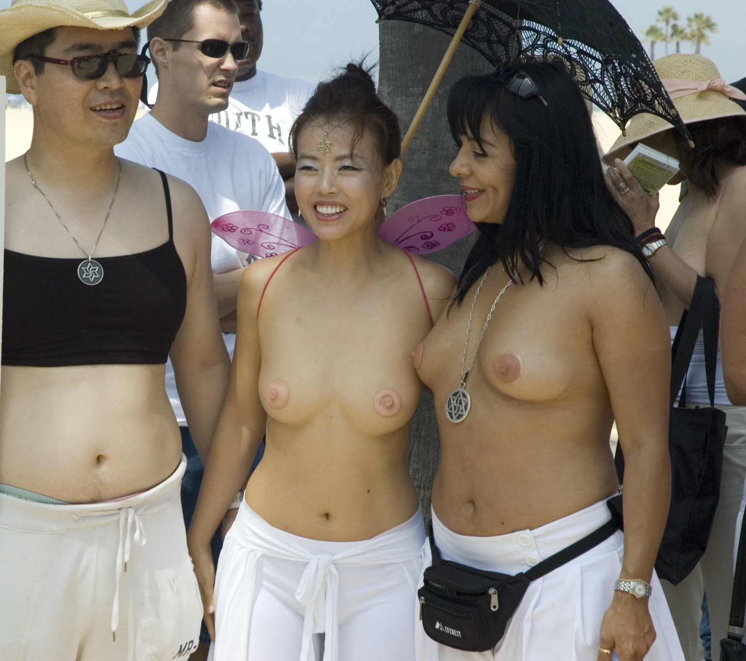 Clinton ass topless girls in bibs rhino cock