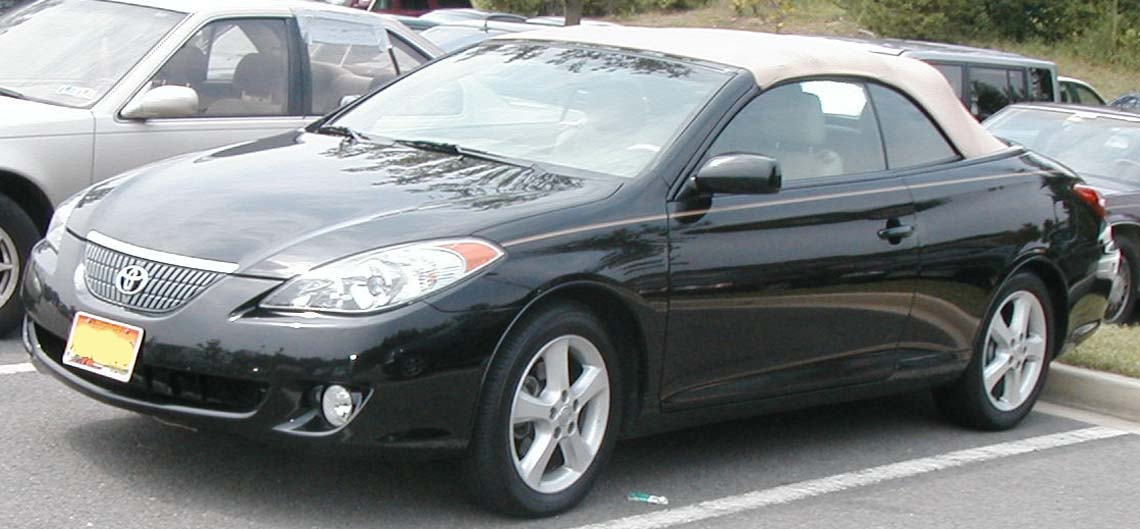 File Toyota Solara Convertible Jpg Wikimedia Commons