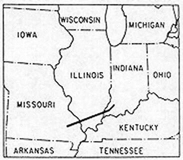 Tri-State tornado trackmap