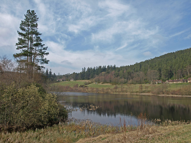 Tumbleton Lake, Cragside - geograph.org.uk - 785415
