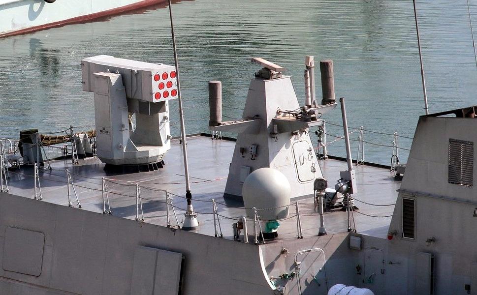 البحرية المصرية....السيناريو الشرقي!!! Type_056_corvette_FL-3000N_8-round_SAM_launcher