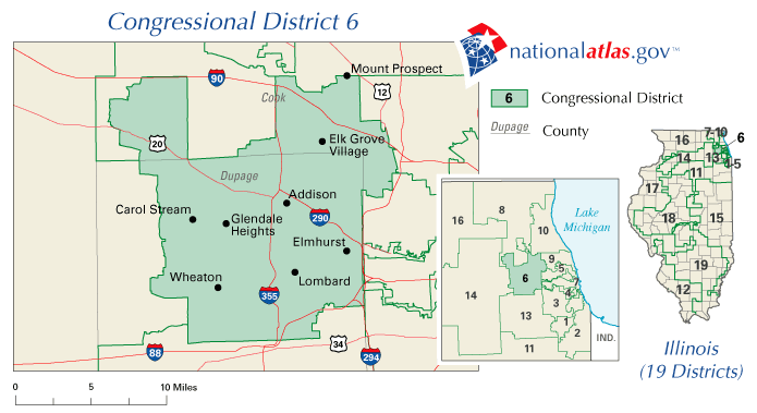 FileUnited States House Of Representatives Illinois District - United states map illinois