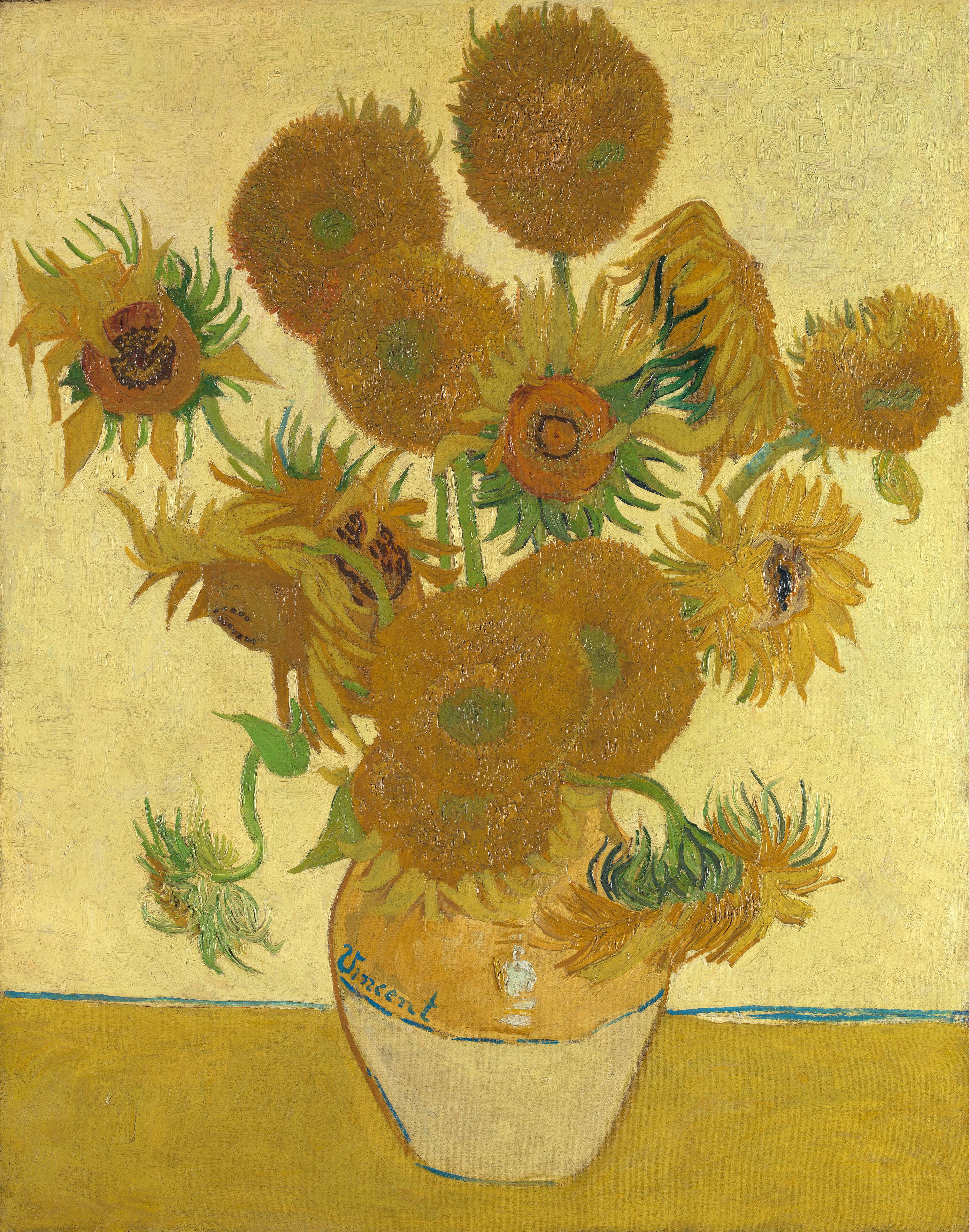 Dateivincent Van Gogh Sunflowers 1888 National Gallery London