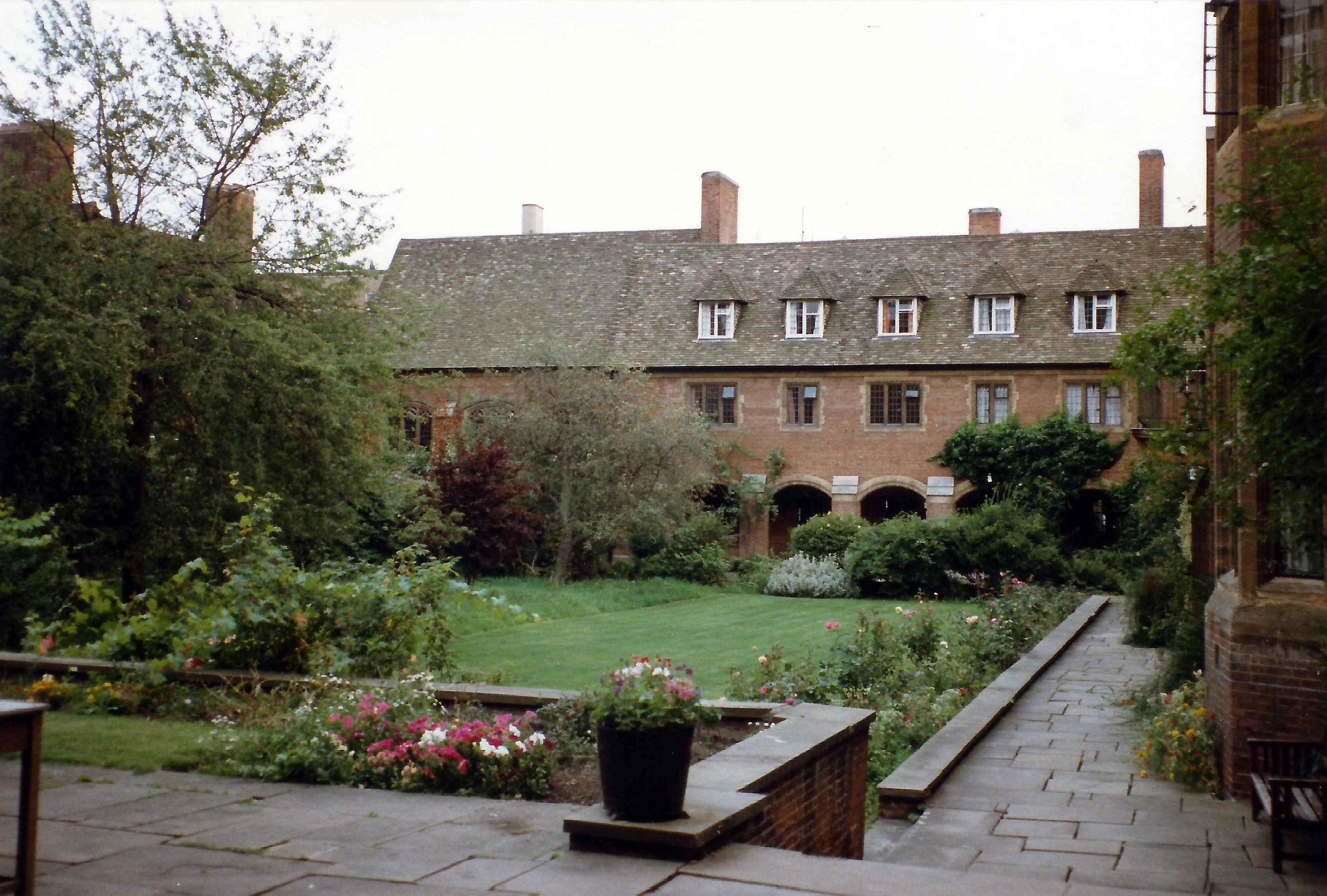 Westcott House old court