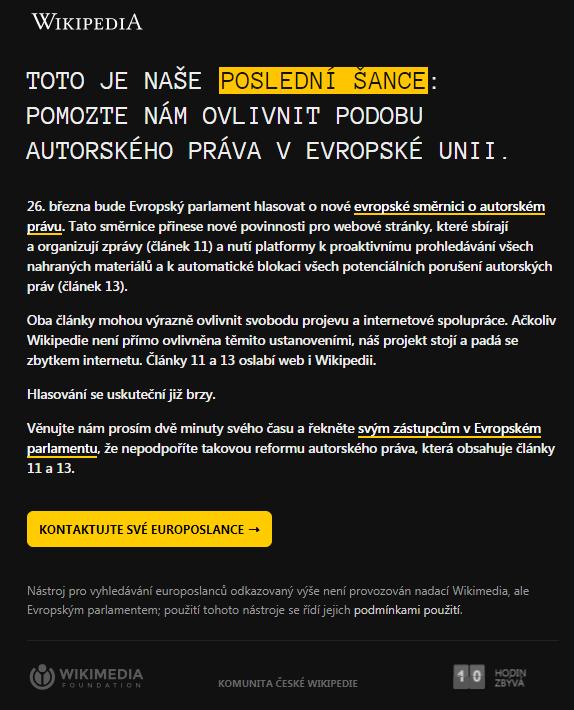 File:Wikipedia Cs Blackout Against The EU Copyright
