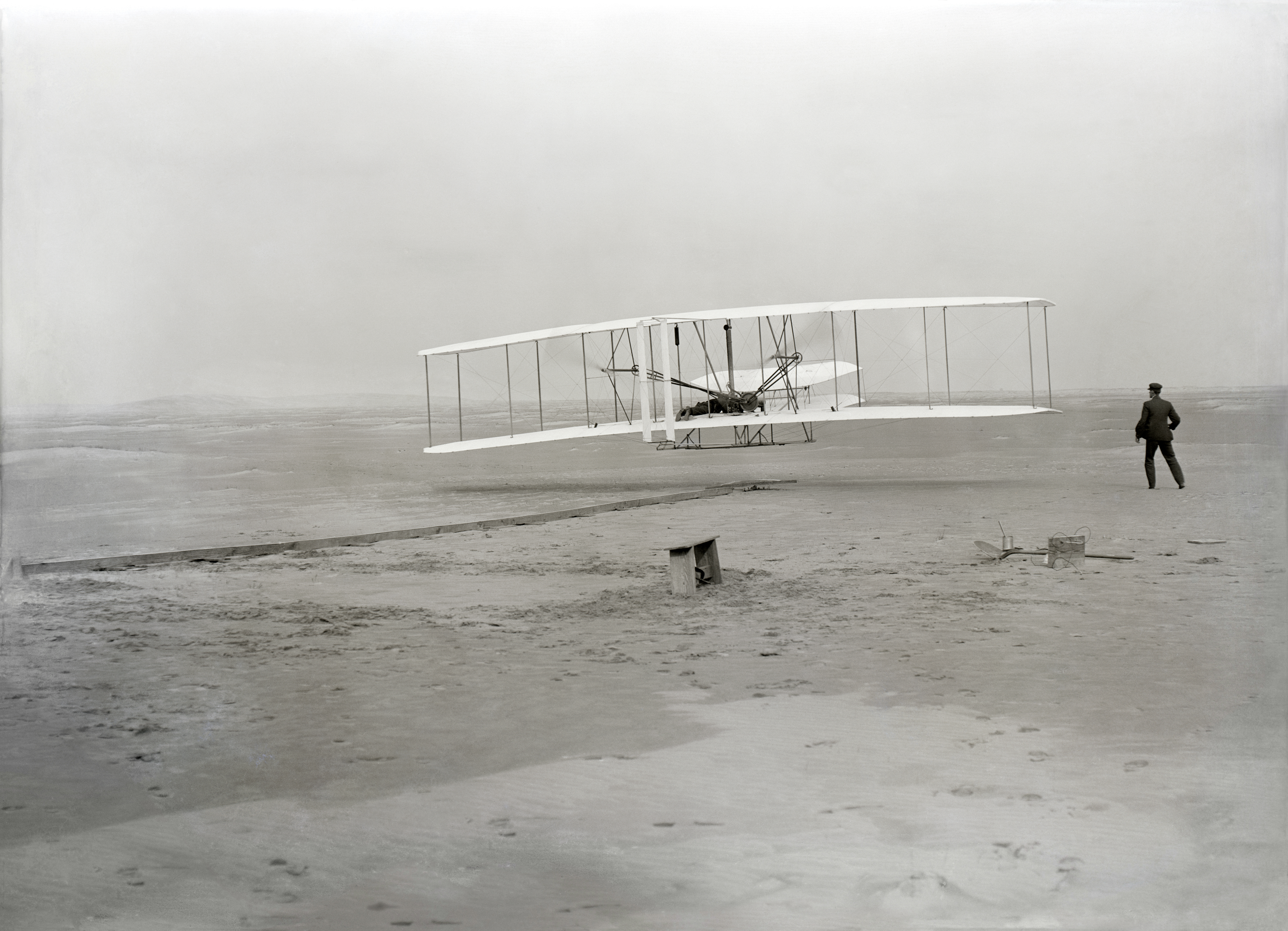 The First Airplane Wright Brothers
