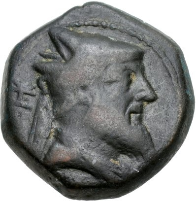 Coin of Xerxes, 220 BCE