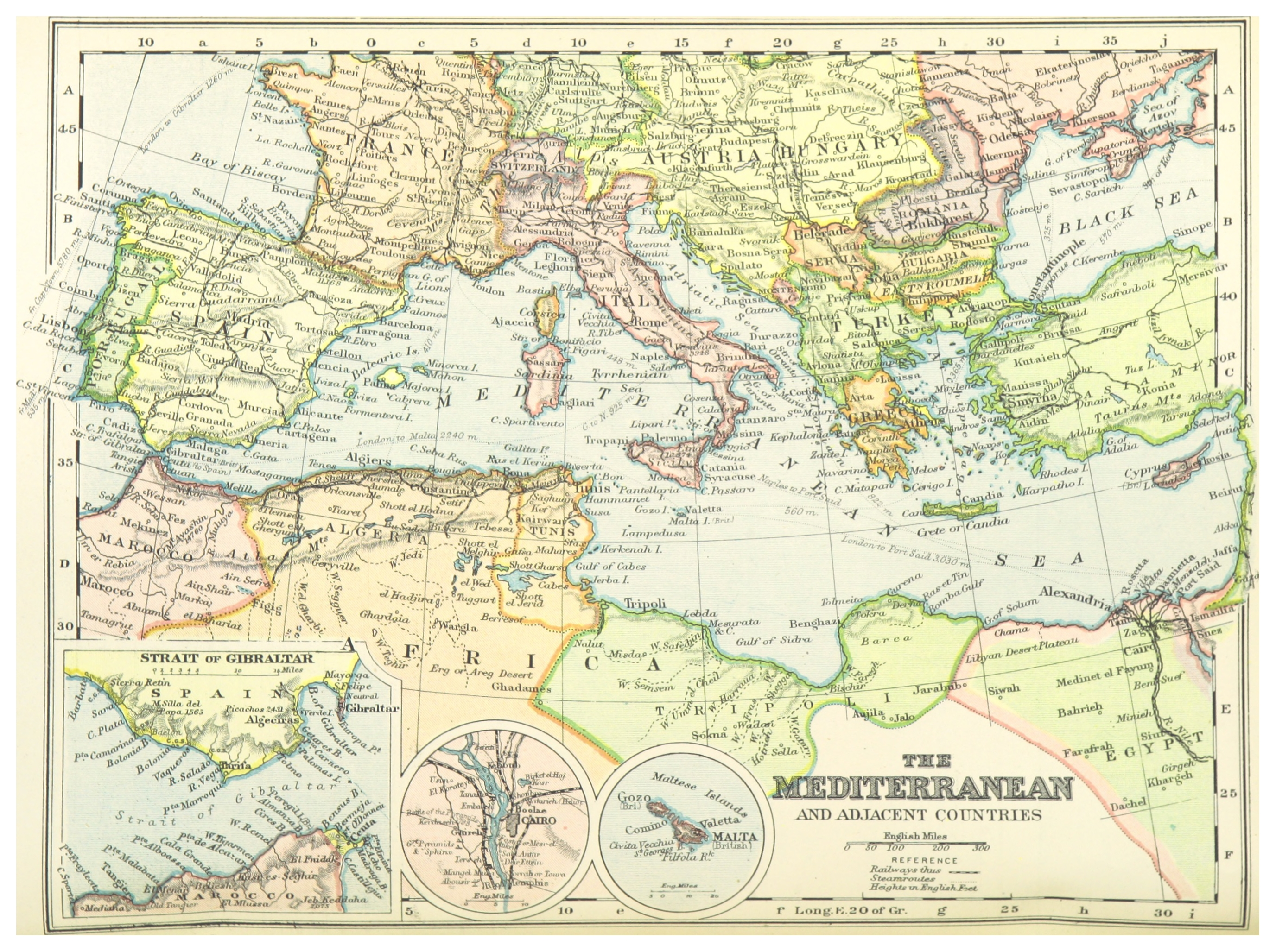 File:(1899) MAP OF THE MEDITERRANEAN COUNTRIES - comp. by Irvine.jpg ...