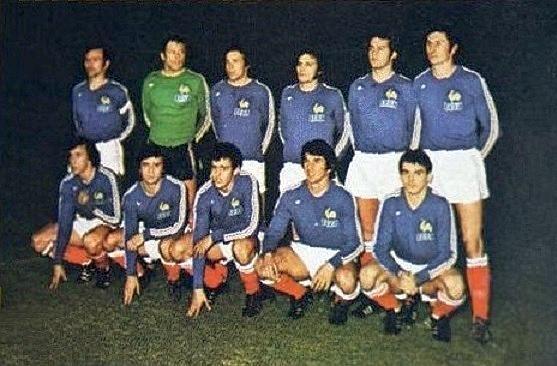 Fileéquipe De France Olympique De Football En 1976