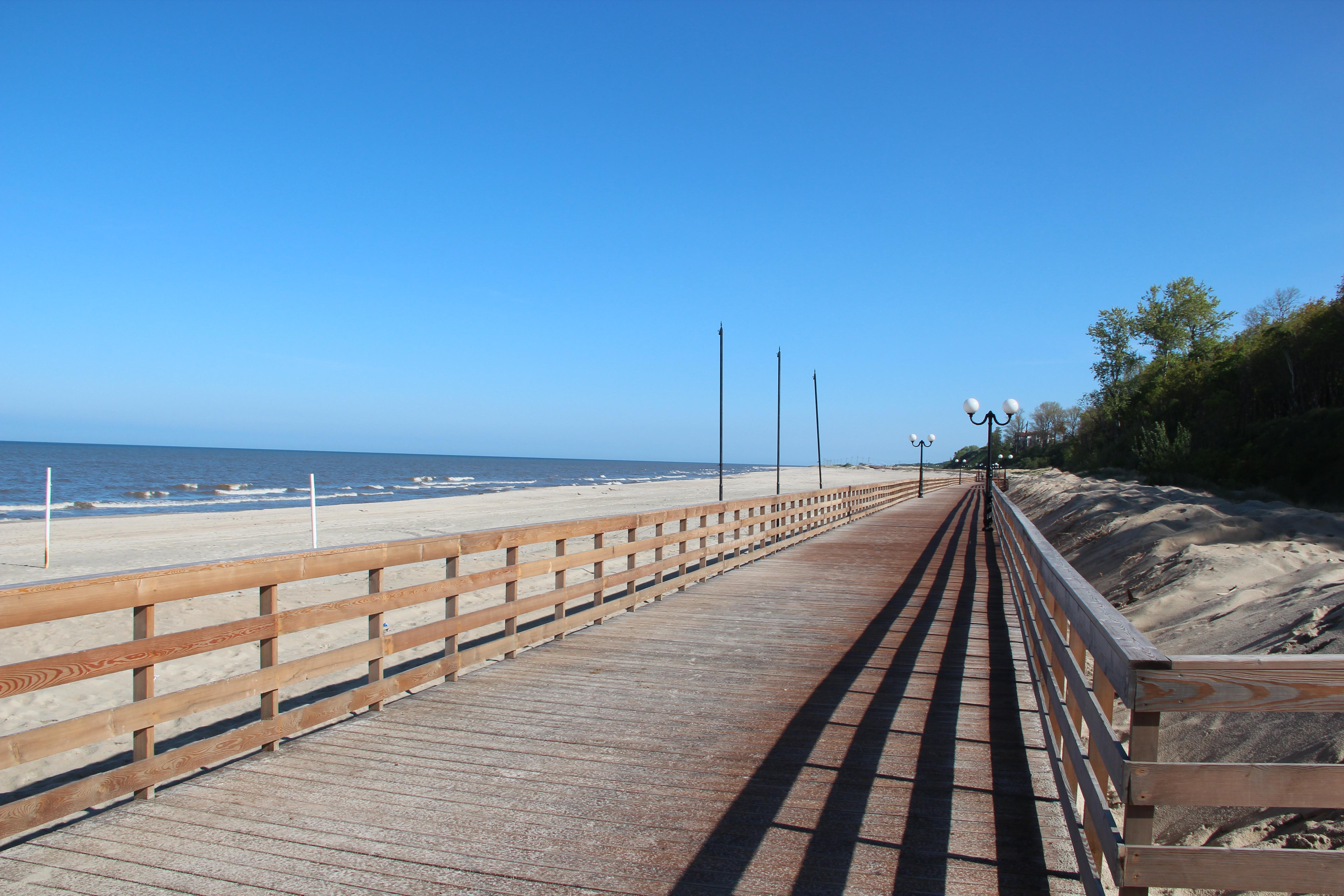 Янтарный пляж фото