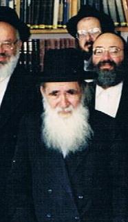 הרב אפרים בורדיאנסקי בטקס יום הולדתו השמונים