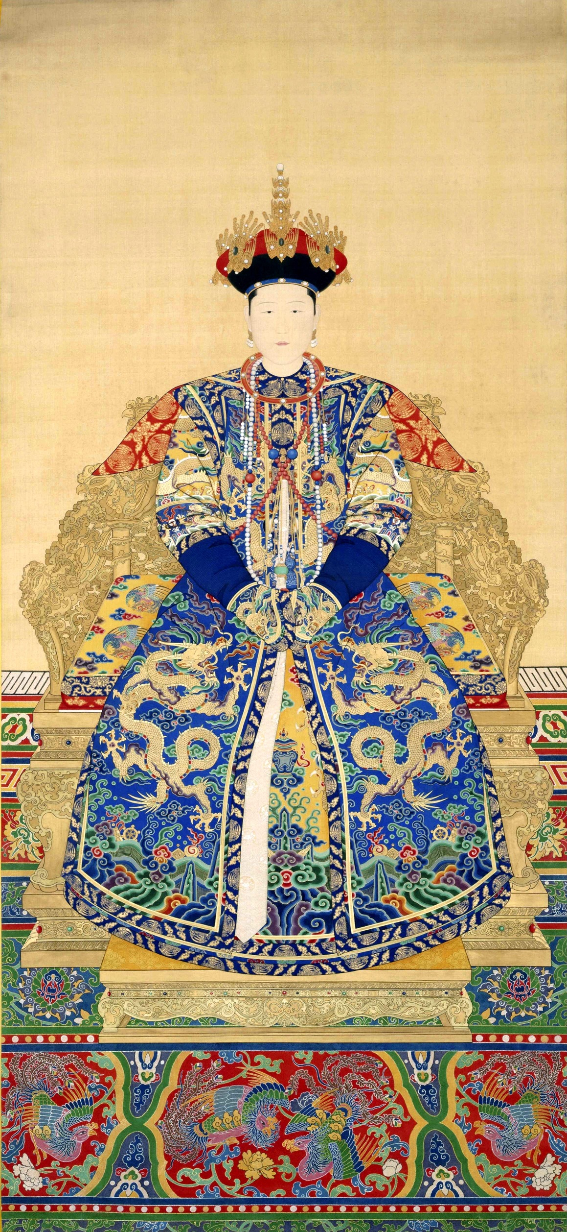 The Empress And Death Antique Tarot Cards: Empress Xiaokangzhang
