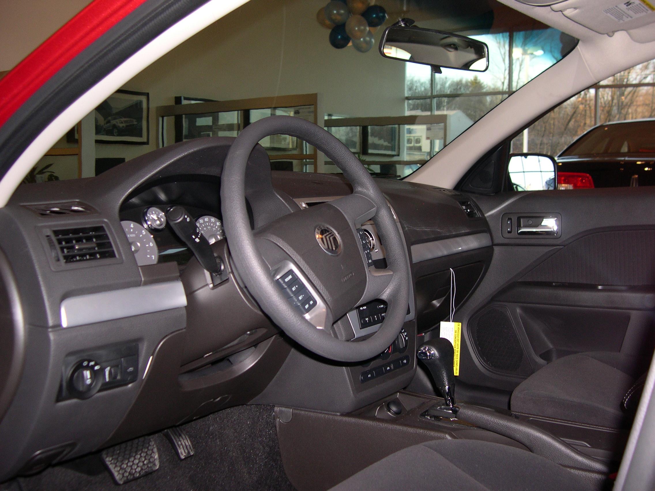 mercury milan 2011 interior