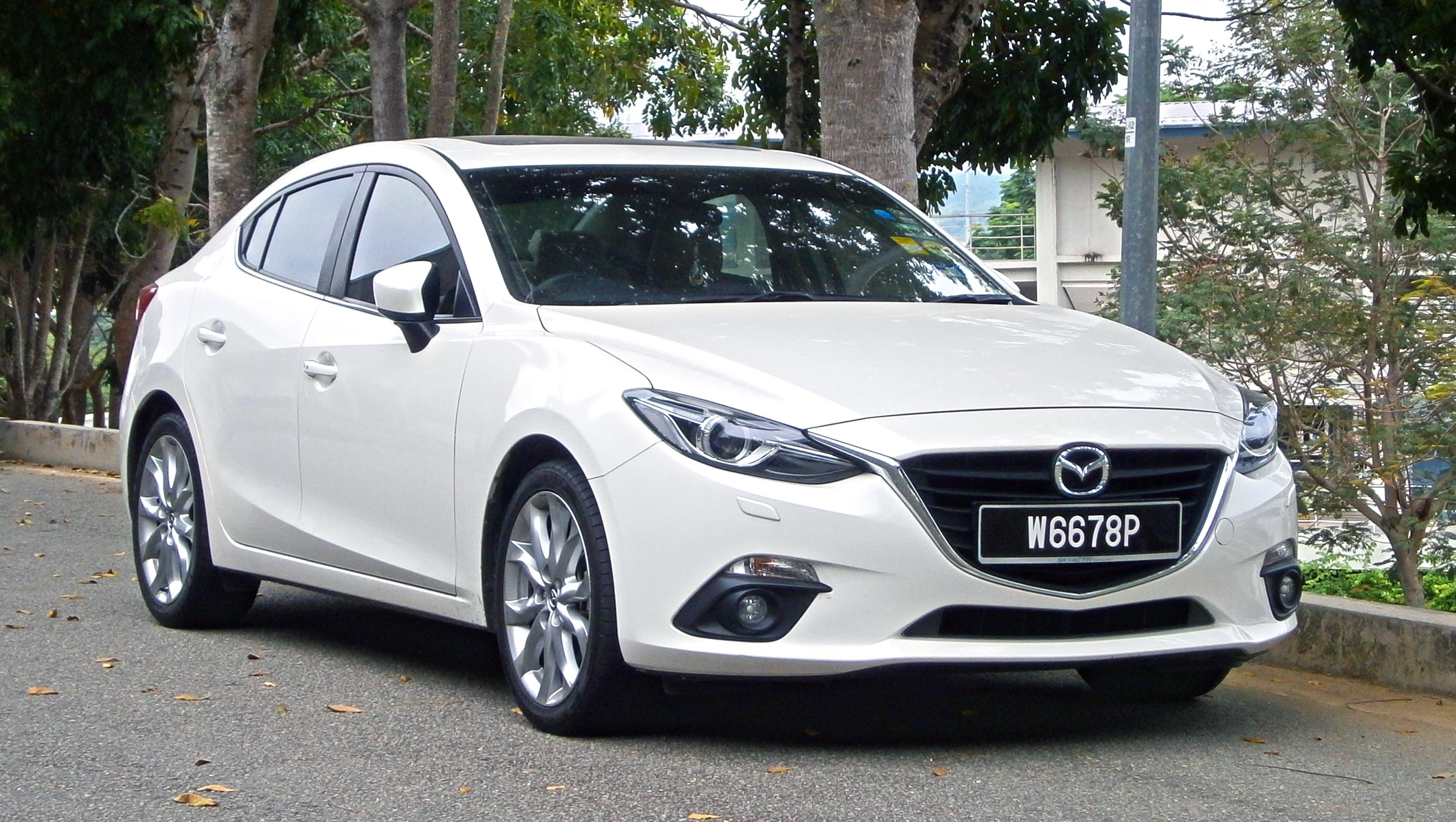 File 2014 Mazda 3 Sedan Bm 2 0 Skyactiv Cbu 4 Door