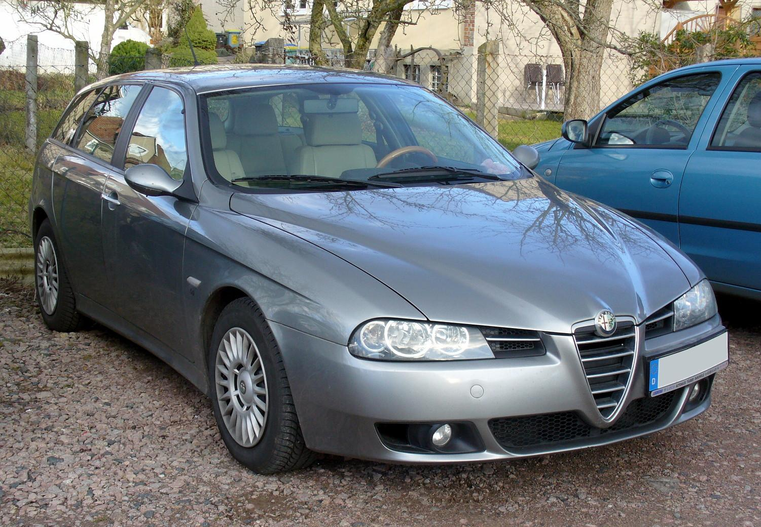 file alfa romeo 156 sportwagon facelift jpg wikimedia commons. Black Bedroom Furniture Sets. Home Design Ideas
