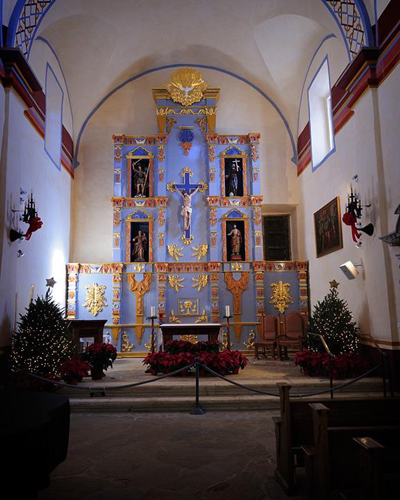 Wedding Altar Wiki: File:Altar, Mission San José (Texas).jpg