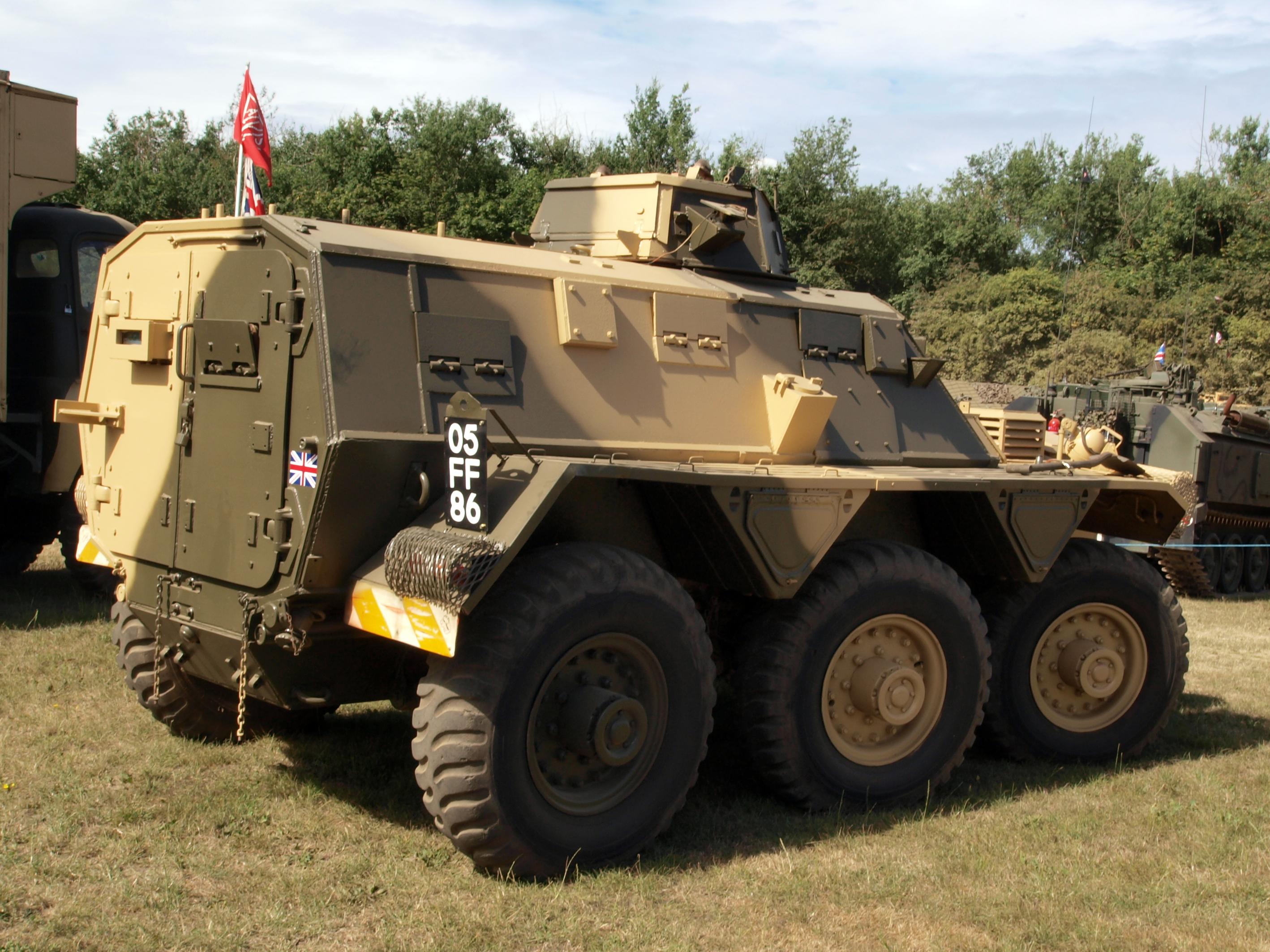 Alvis Saracen Armoured Car For Sale