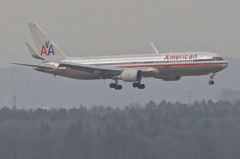 Boeing 767 300 american airlines milan jfk - Italian Guide