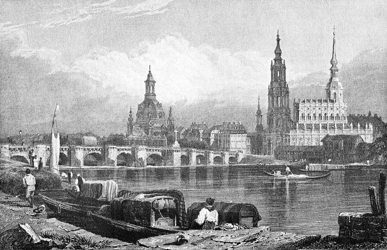 Bild på Dresden 1850
