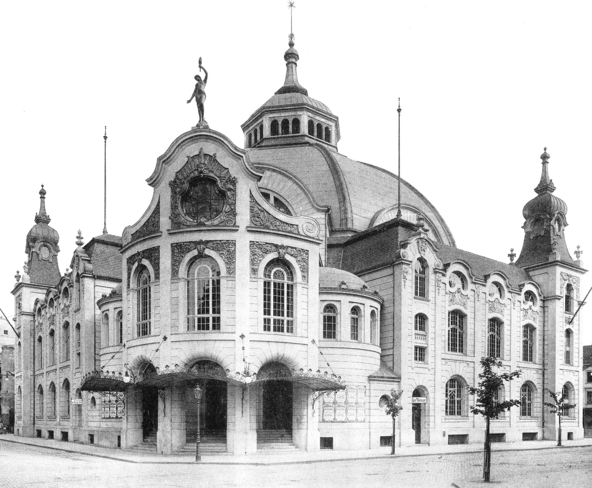 File apollo theater d sseldorf architekt hermann vom endt for Moderne architektur
