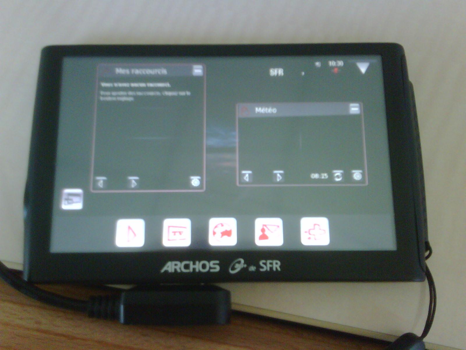 ARCHOS ARCHOS 3G+ DE SFR DRIVER
