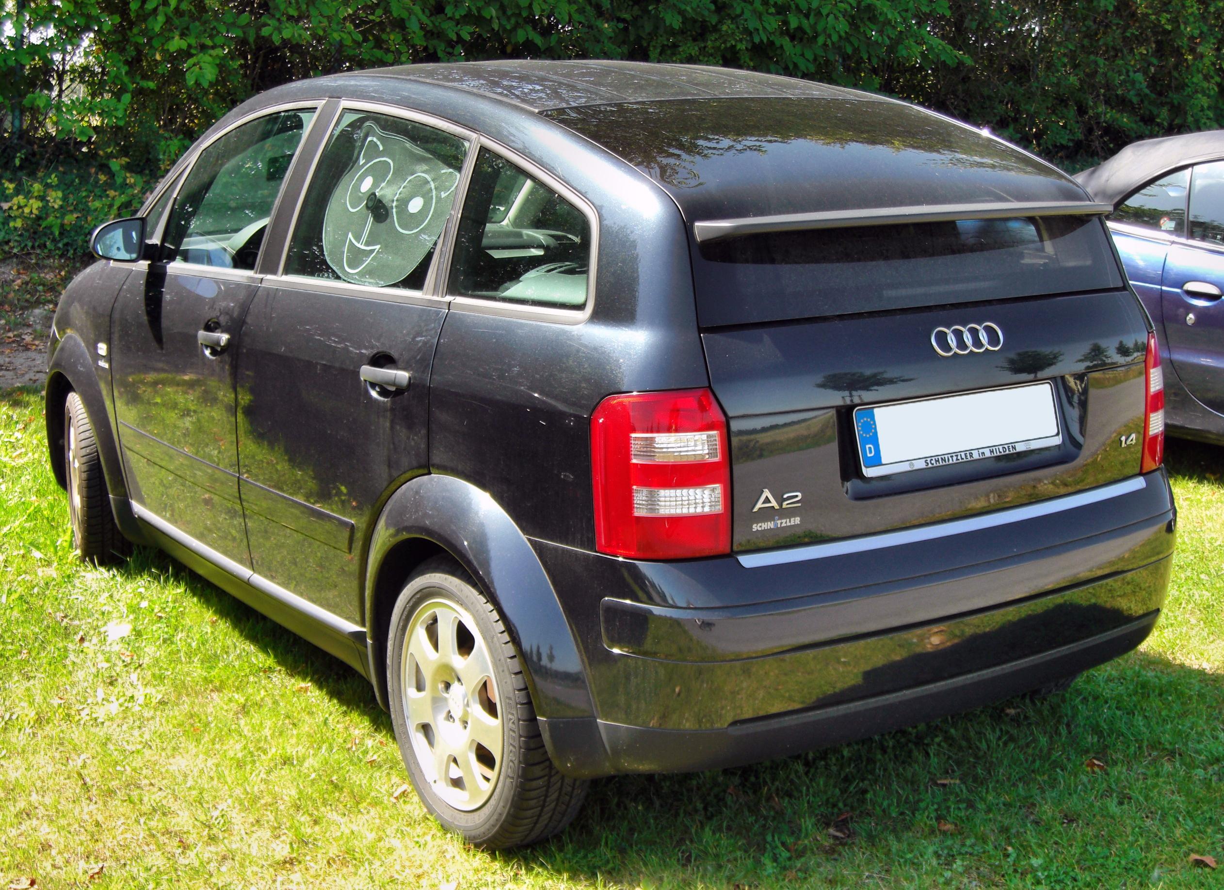 File Audi A2 20090815 Rear Jpg Wikimedia Commons