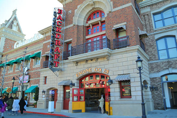 Backdraft Universal Studios Japan