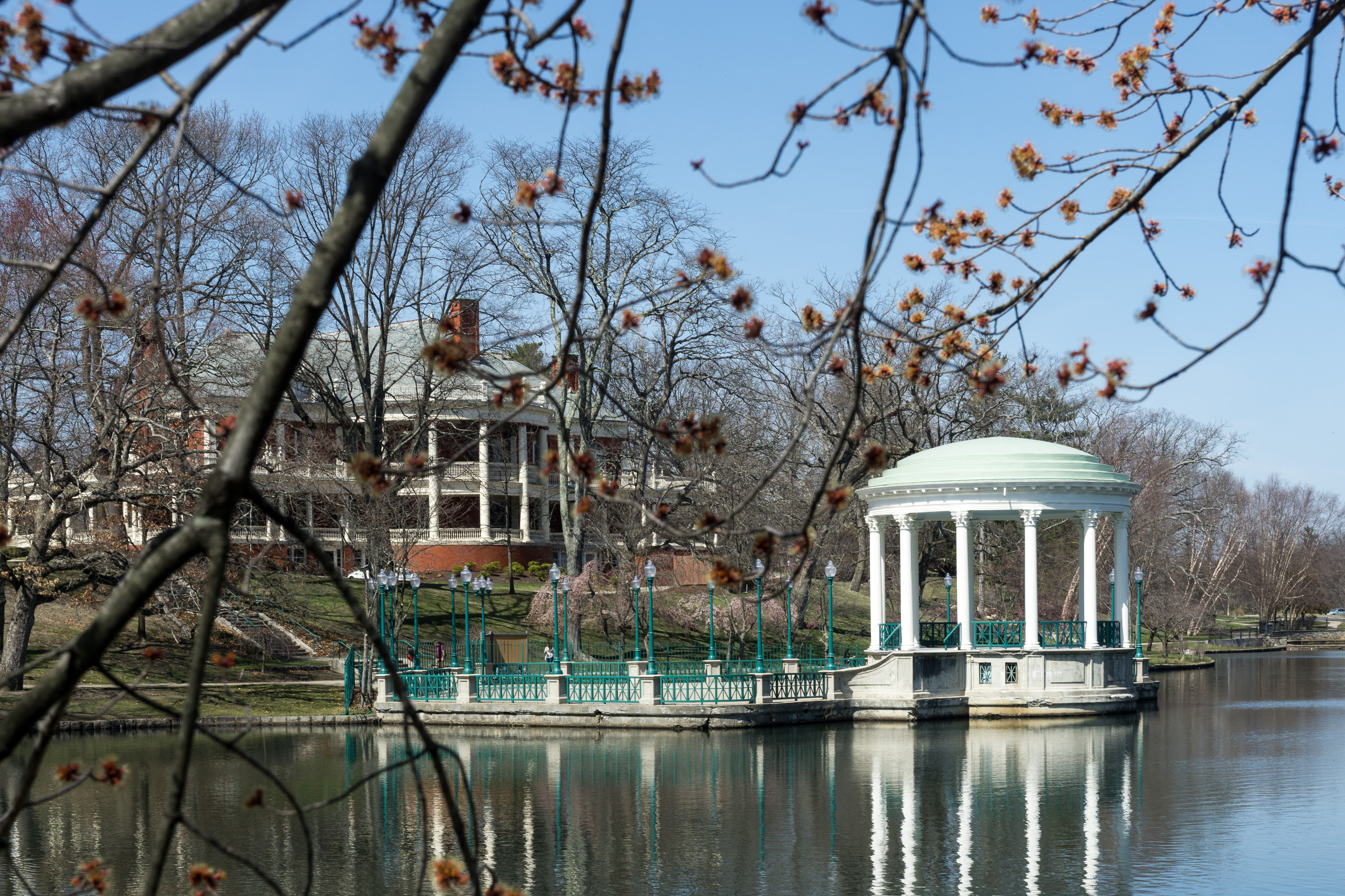 Bandstand And Casino, Roger Williams Park, Providence, Rhode Island